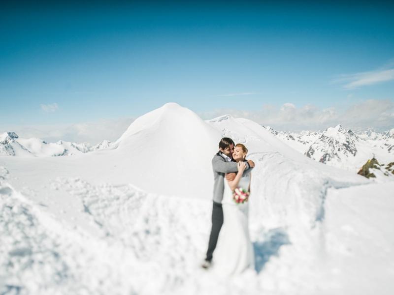 Brautpaar, Pitztaler Gletscher