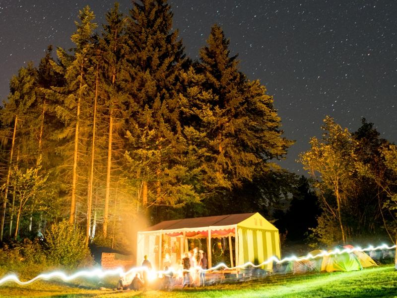 Nachthimmel wasserFEST