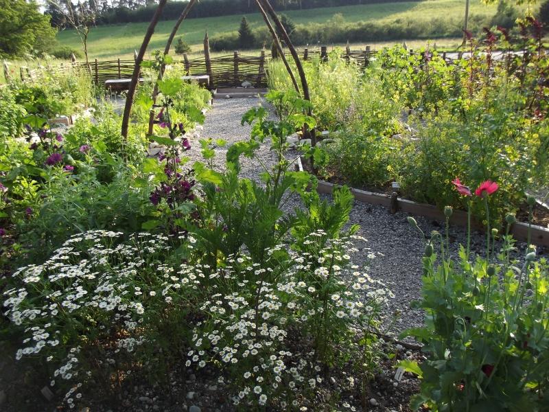 Naturküche Wieshof Gartentag im Pfaffenwinkel Karlsgarten Augenschmaus und Gaumenfreude