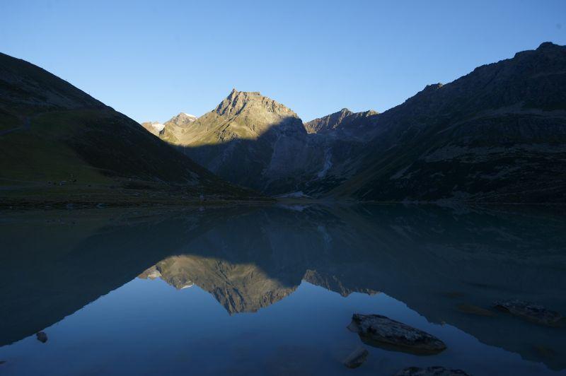 Rifflsee Gletscher Berg