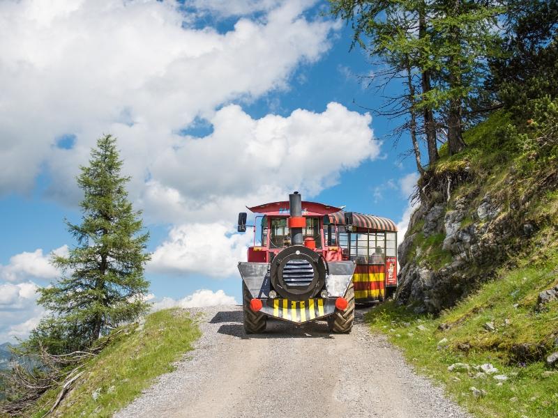 Bahn auf Rädern, Berg