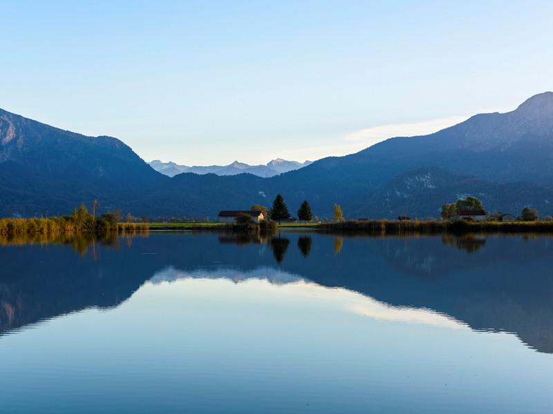 Eichsee, Blaues Land, Zugpitz Region, Wolfgang Ehn
