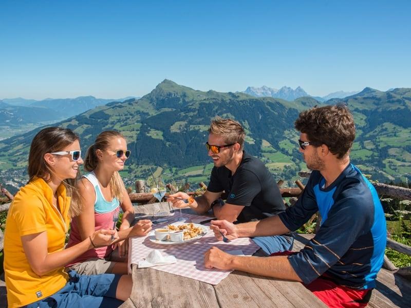 Ausblick Berge Kitzbühel