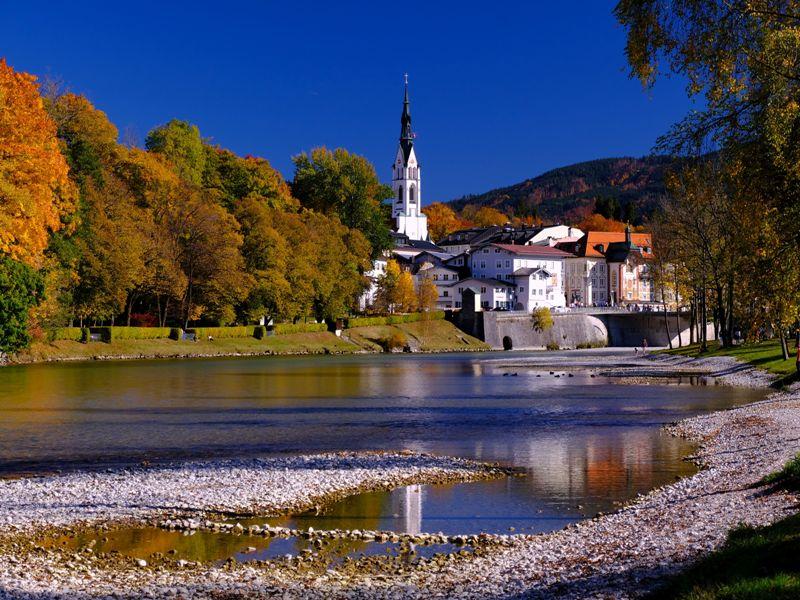 Bad Tölz Kirche Berge