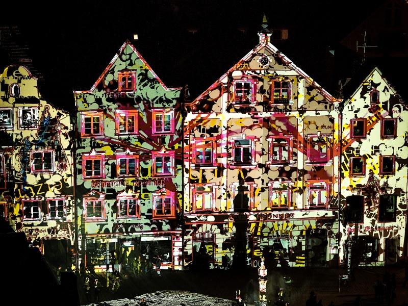 Kunst, Haus, Licht
