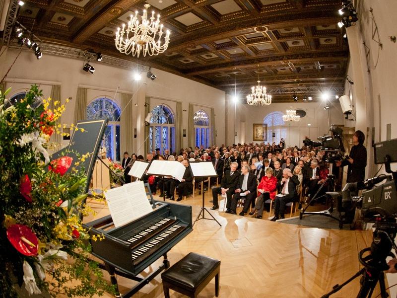 Musik, Konzert, Saal, Menschen
