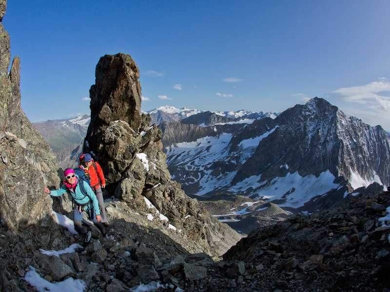 Wanderer Berge