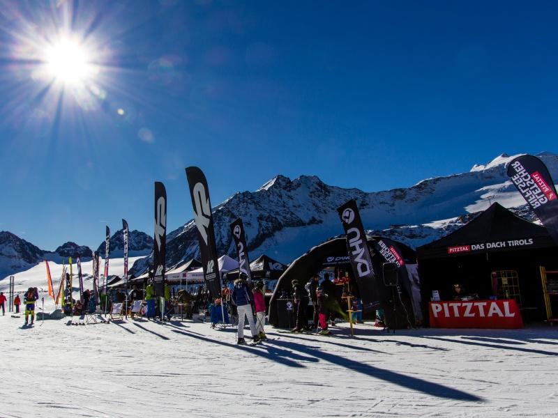 Pitztal Gletscher Eröffnung Veranstaltung Winter