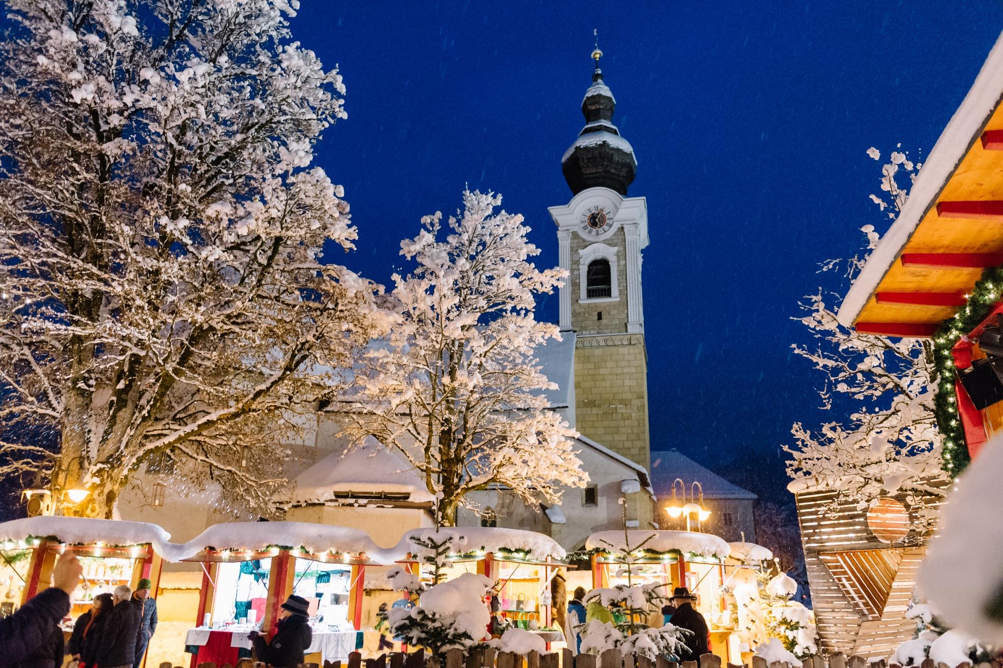 Altenmarkt in Adventsstimmung