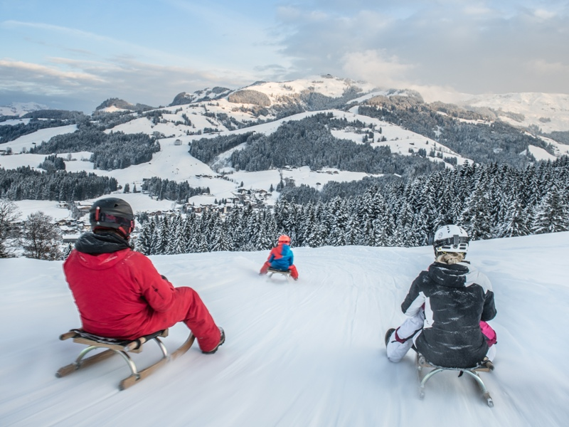 sanfer Wintersport, Rodeln in Kitzbühel, Michael Werlberger, Kitzbühel Tourismus