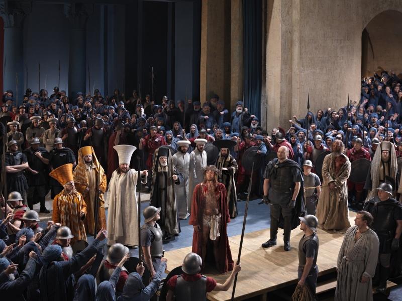 dramatische Szene Theater Passionsspiele 2020