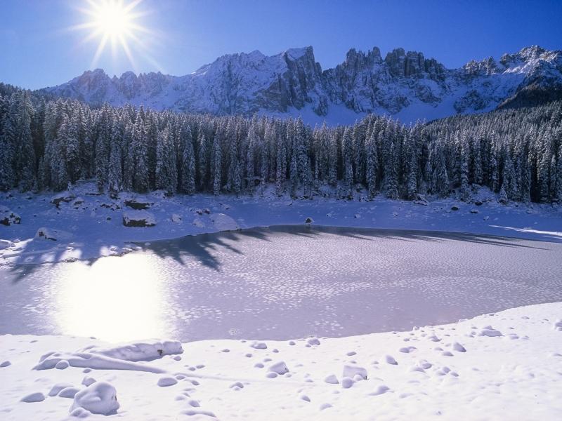 Karer See, Carezza, Eggental, Südtirol