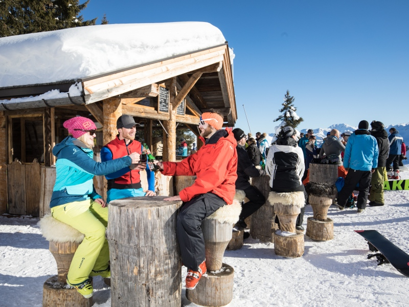 Skiopening in der Wildschönau mit Wein