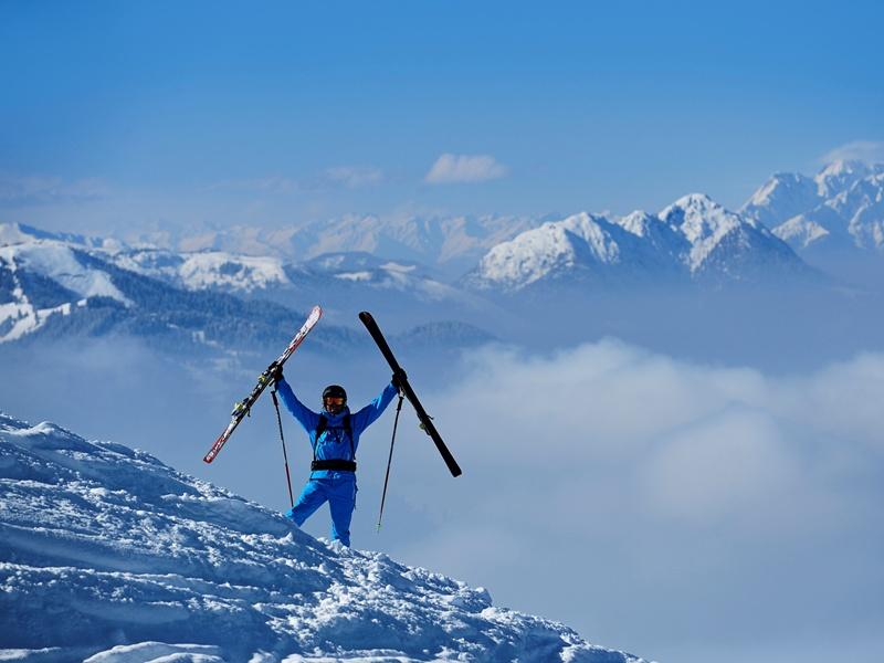 Skifahren, Kitzbüheler Alpen, Elektronische Gästekarte, Norbert Eisele-Hein