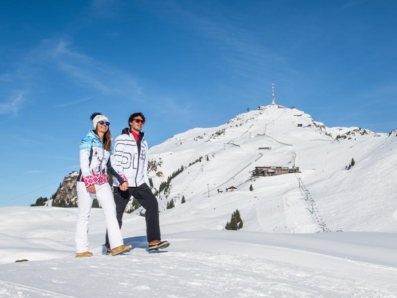 Winterwandern, Kitzbühel, sanfter Wintersport, Michael Werlberger, Kitzbühel Tourismus