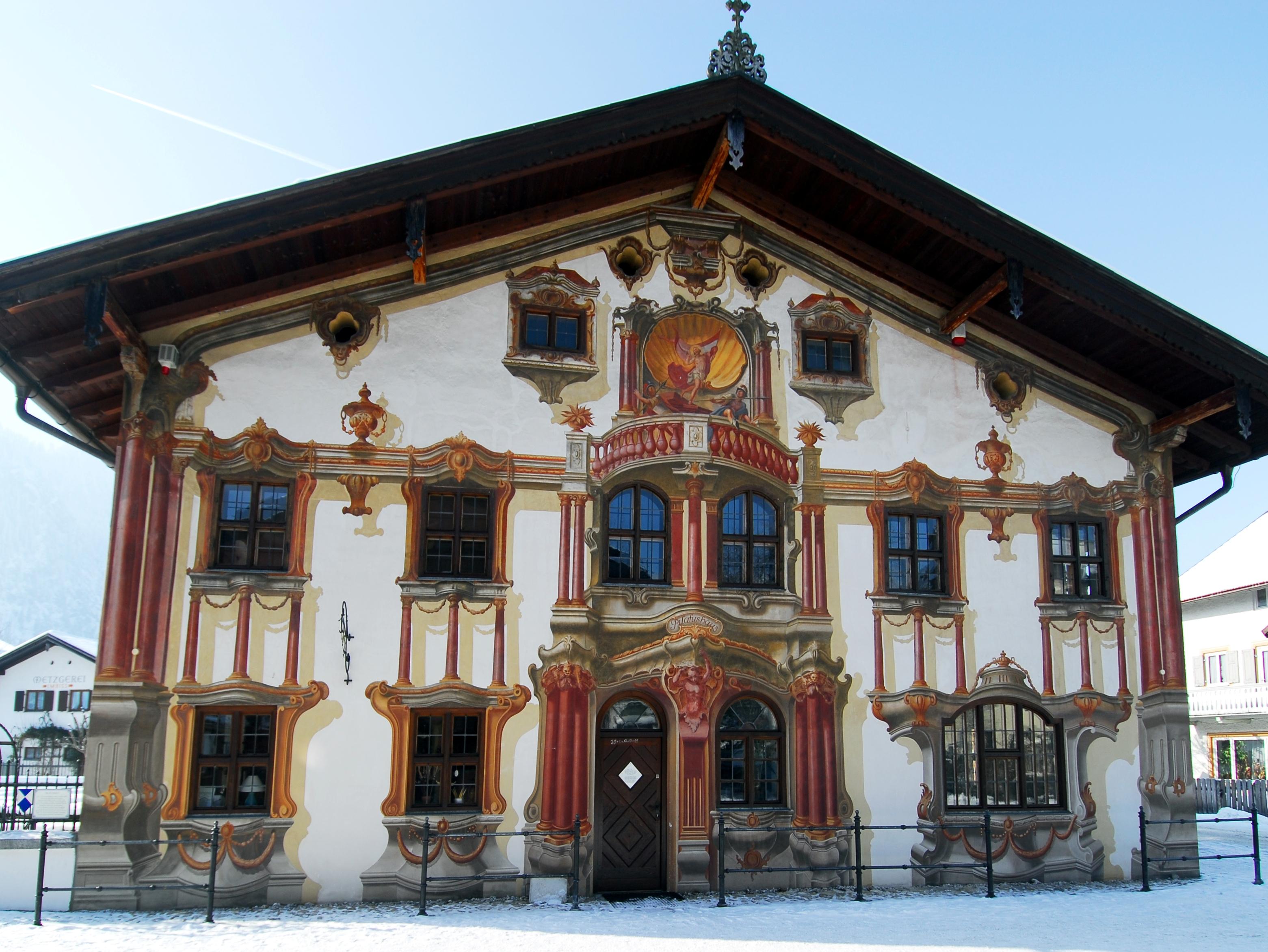 Pilatushaus in Oberammergau, Debionne
