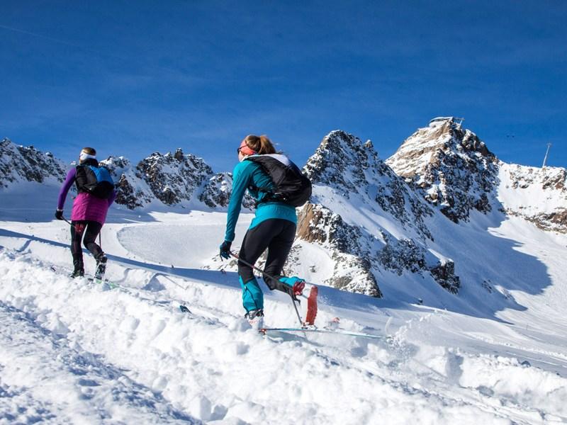 Skitourenpark, Pitztal, Gletscher, Pitztaler Gletscherbahn