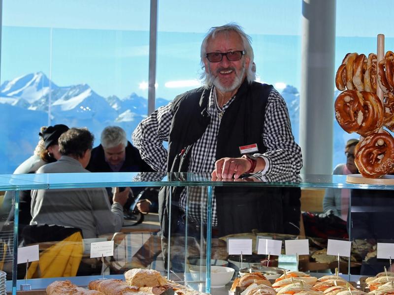 Sepp Eiter Gletscher cafe