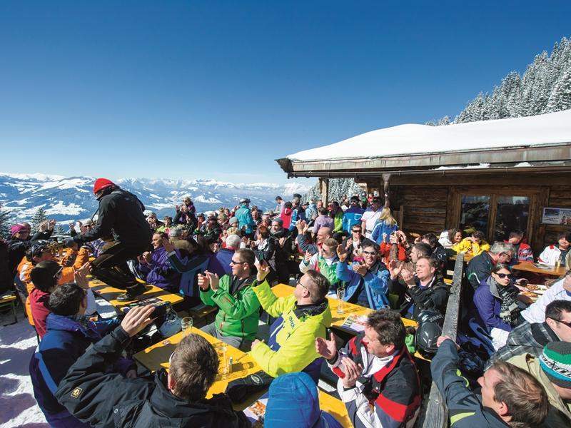 Skihütten-Gaudi, Kitzbüheler Alpenc SkiWelt