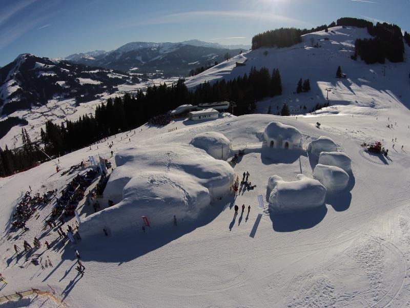 Alpeniglu Dorf Kitzbüheler Alpen