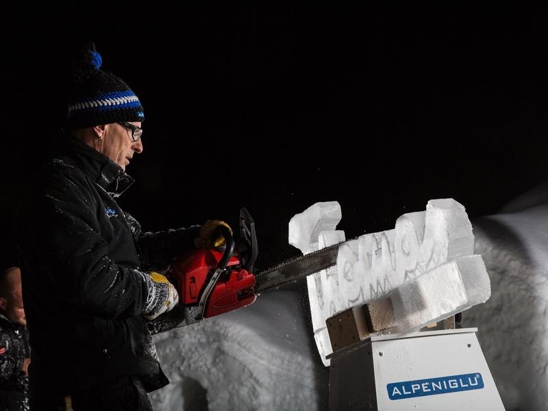 Eiskünstler Benno Reitbauer Alpeniglu
