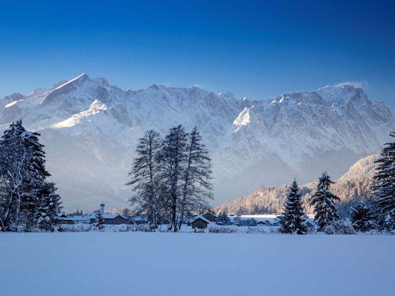 Bergpanorama, Zugspitzland, c Andreas Müller Fotografie Farchant
