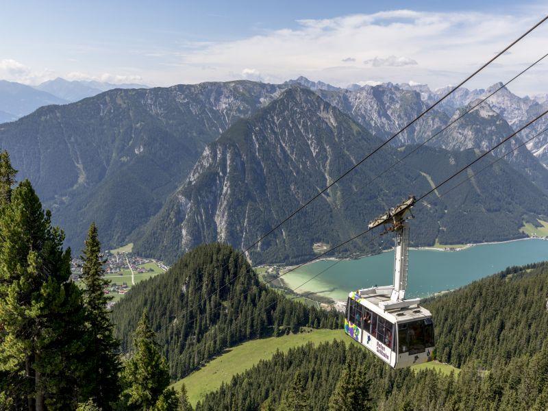 Erlebniscard, Rofanseilbahn ,Achensee, Saisonstart,
