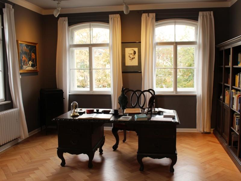 Arbeitszimmer von Thomas Mann im Städtchen Bad Tölz