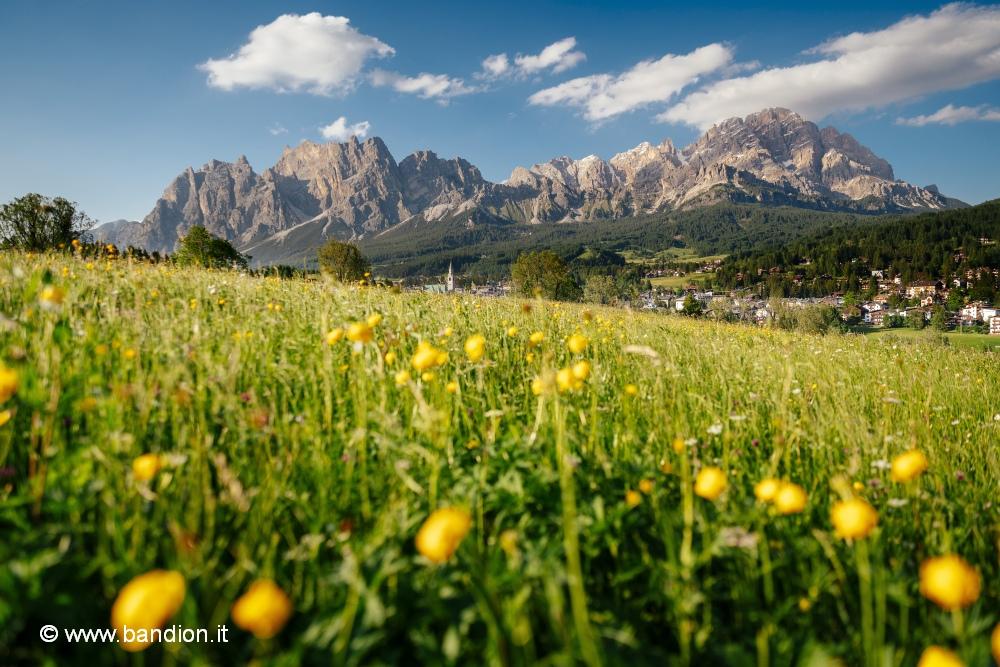 Cortina d'Ampezzo in den Dolomiten ist Kunde von Kunz PR