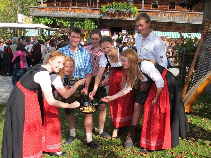 Knolle trifft auf Kulinarik auf der Wildschönauer Krautingerwoche