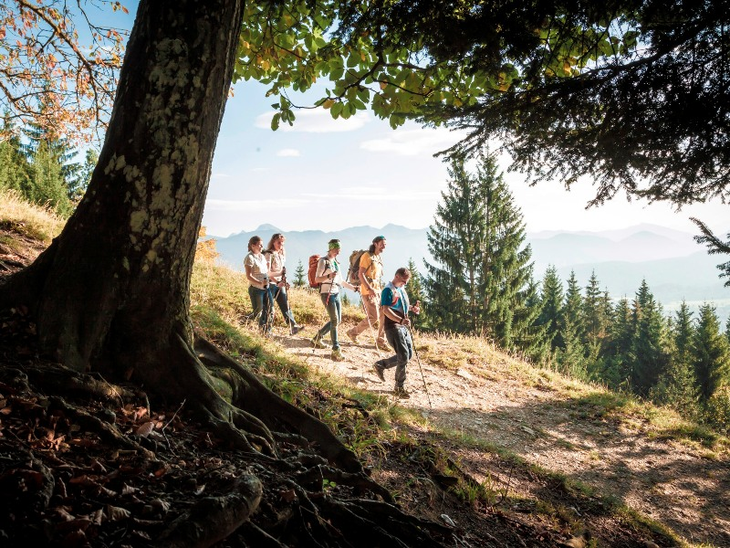 Wandern Herbst Lenggries Tourismus