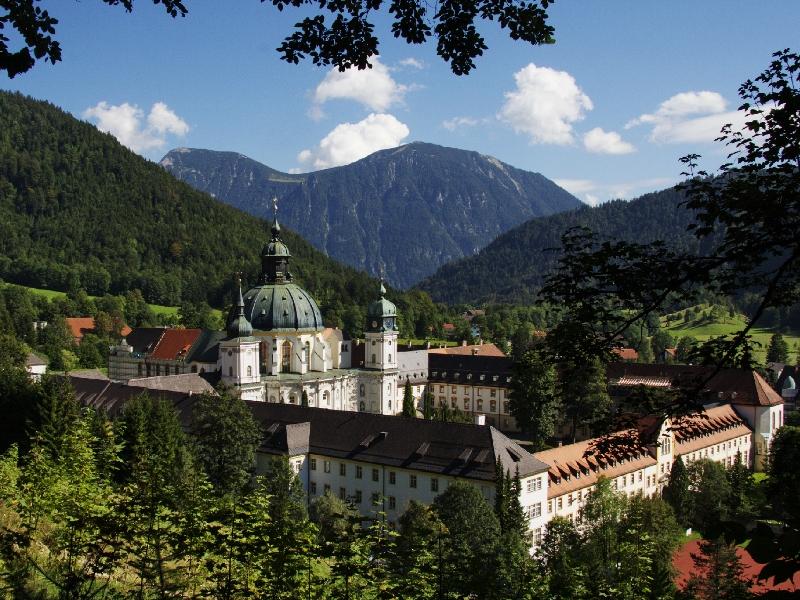 Kloster Ettal Oberammergau Null-Euro-Schein Mende