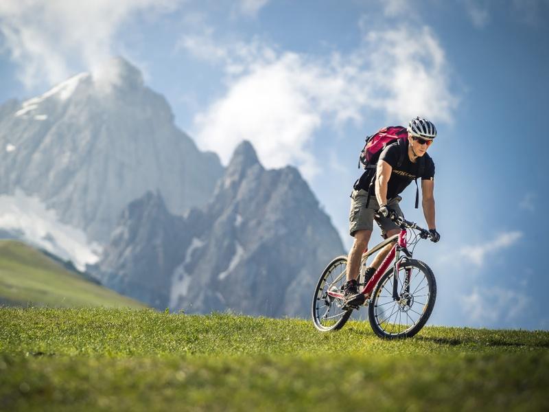 Radeln in Cortina D'Ampezzo
