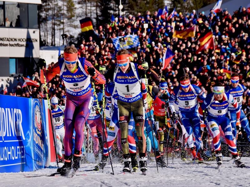 Biathlon Weltcup Kitzbüheler Alpen Hochfilzen
