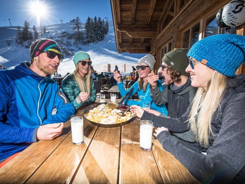 Start in Wintersaison Wildschönau Einkehrschwung