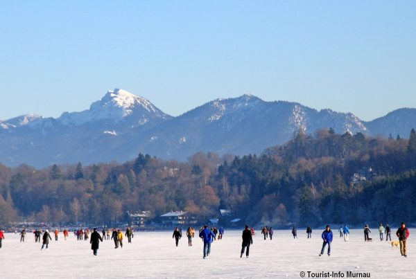 Eislaufen Staffelsee Murnau