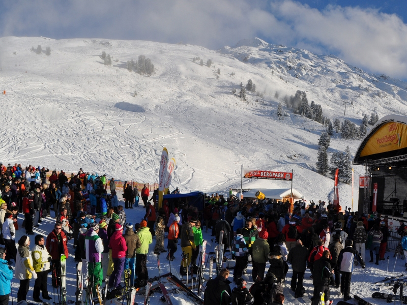 Ski Opening Hochzeiger Bühne Open Air Pitztal