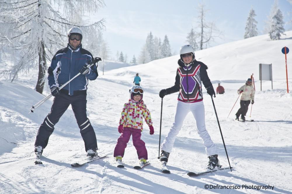 Pillerseetal Skifahren Familie