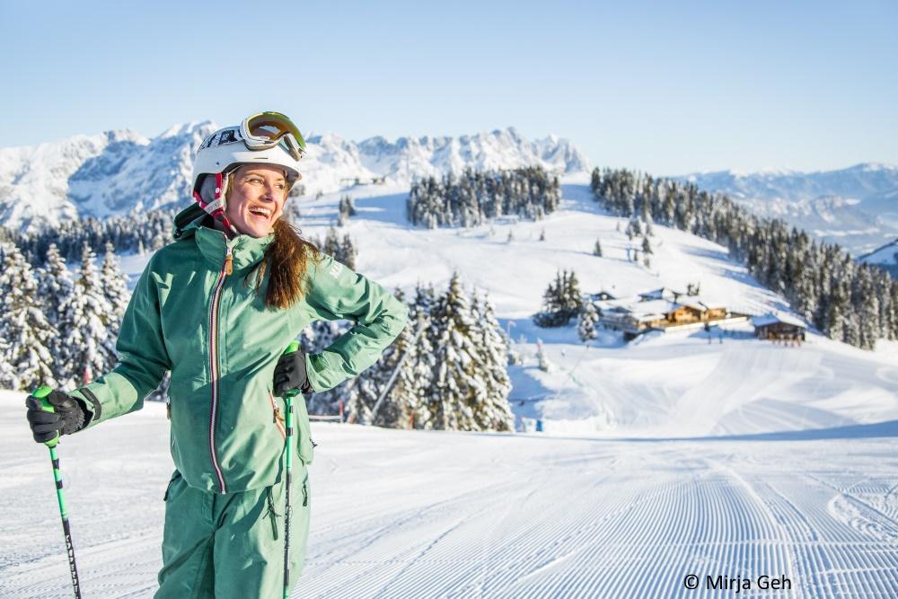 Kitzbüheler Alpen Pistenspass Skiwelt Wilder Kaiser