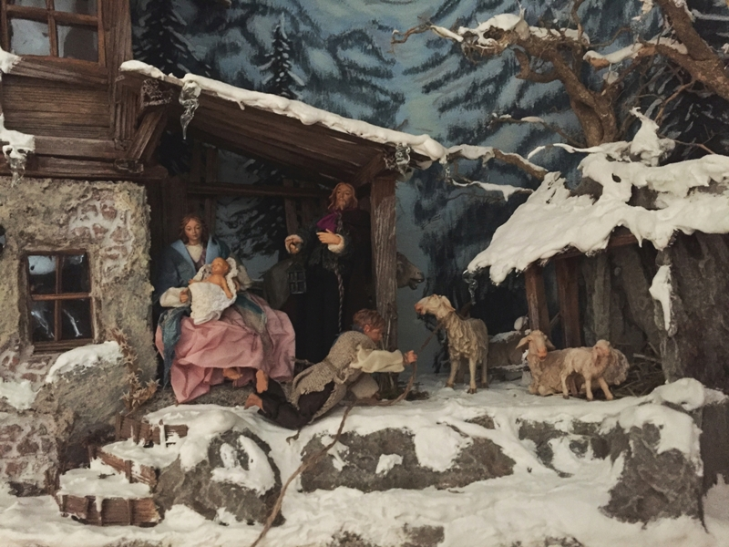 Kripperl Weihnachtskrippe Tölzer Land