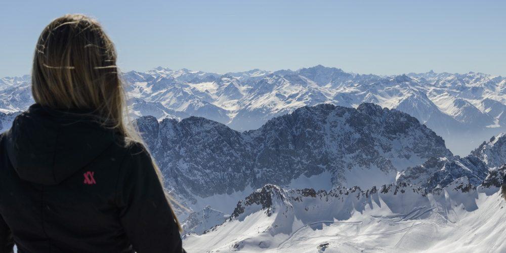 Zugspitze Aussicht Zugspitz Region