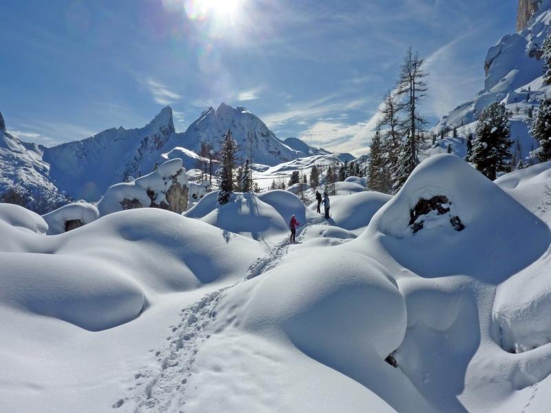 Cortina Schneeschuhwandergruppe