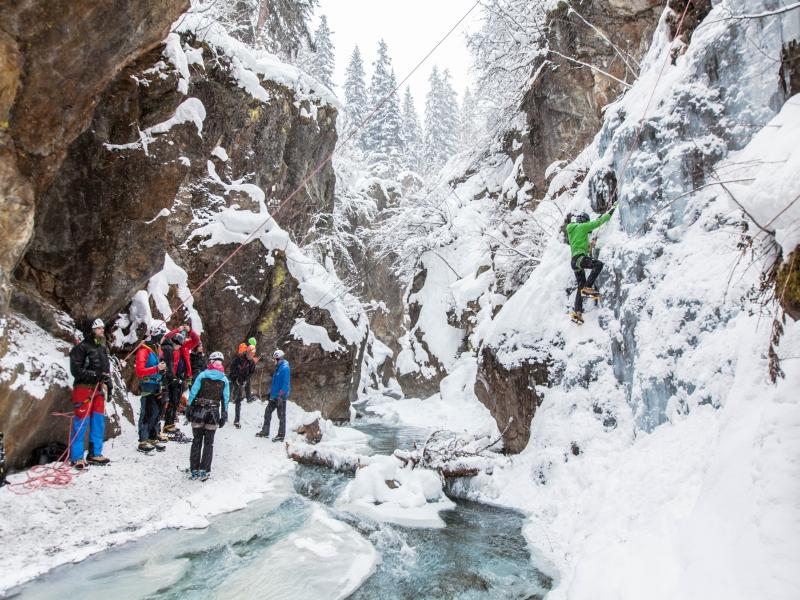 Eisklettern Gruppe Pitztal Gletscher