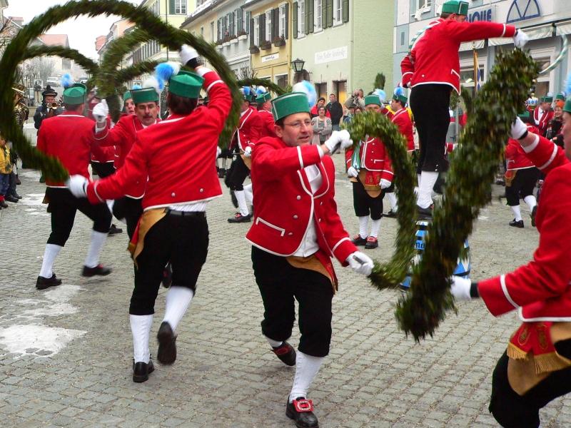 Schäfflertanz Murnau Untermarkt