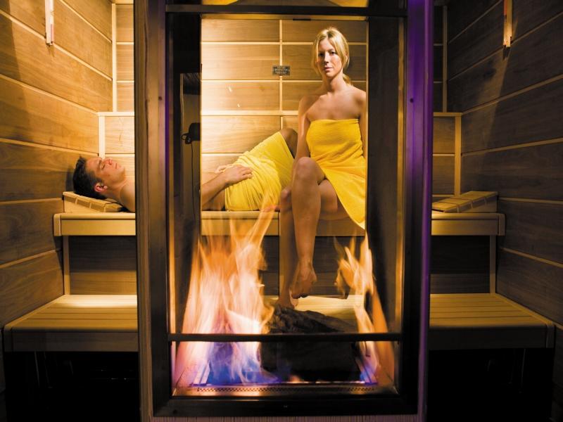 Feuer Sauna Parkhotel Bayersoien