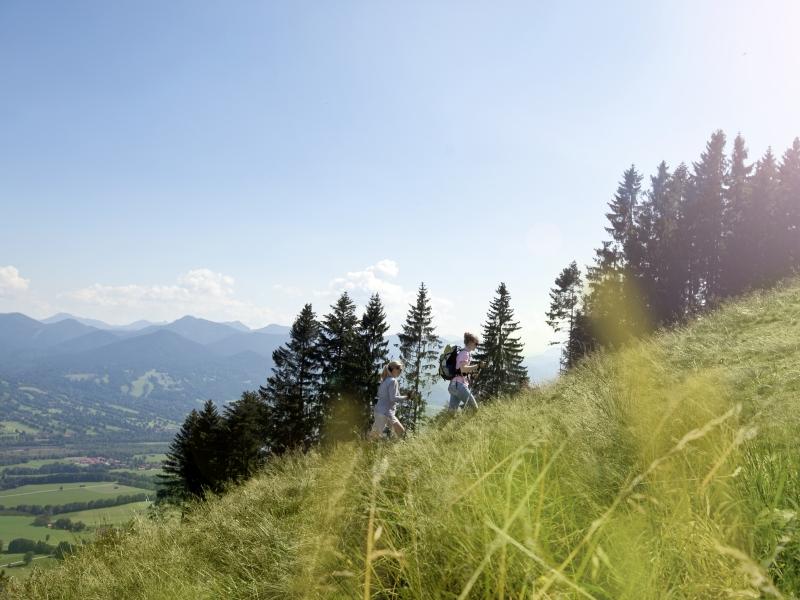 Sommer 2 Wander Blick ins Tal