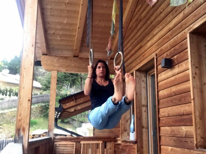 Tamara Lunger Klimzug Ringe Balkon