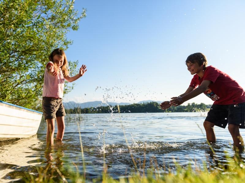 2 Kinder Wasserspiele Staffelsee