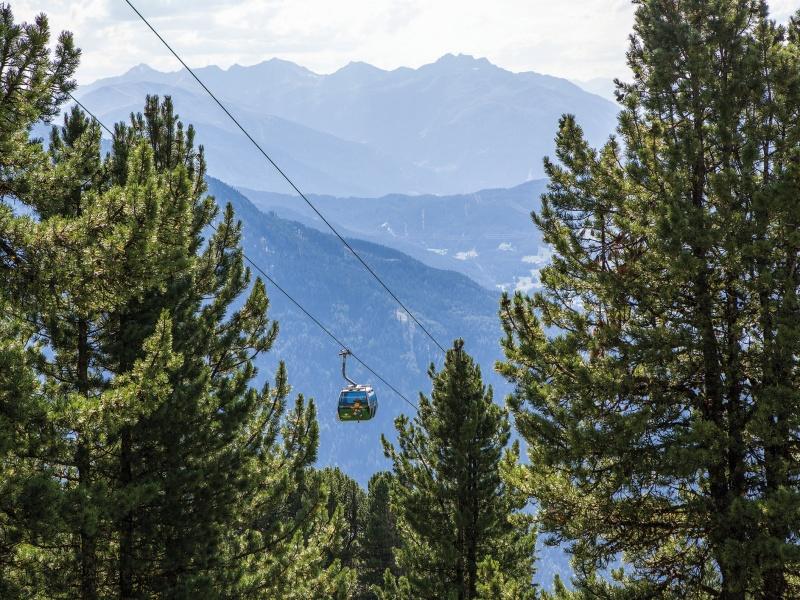 Gondel Hochzeiger Bahn Bäume Berge