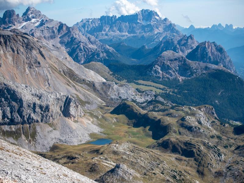 Bergsee Gipfel Nationalpark